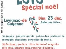 Loto spécial Noël : dimanche 23 décembre