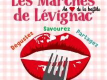 Les marchés de Lévignac du 17 juillet au 28 aout 2020