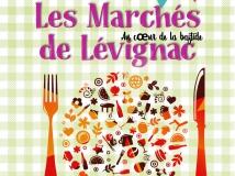 Les marchés de Lévignac